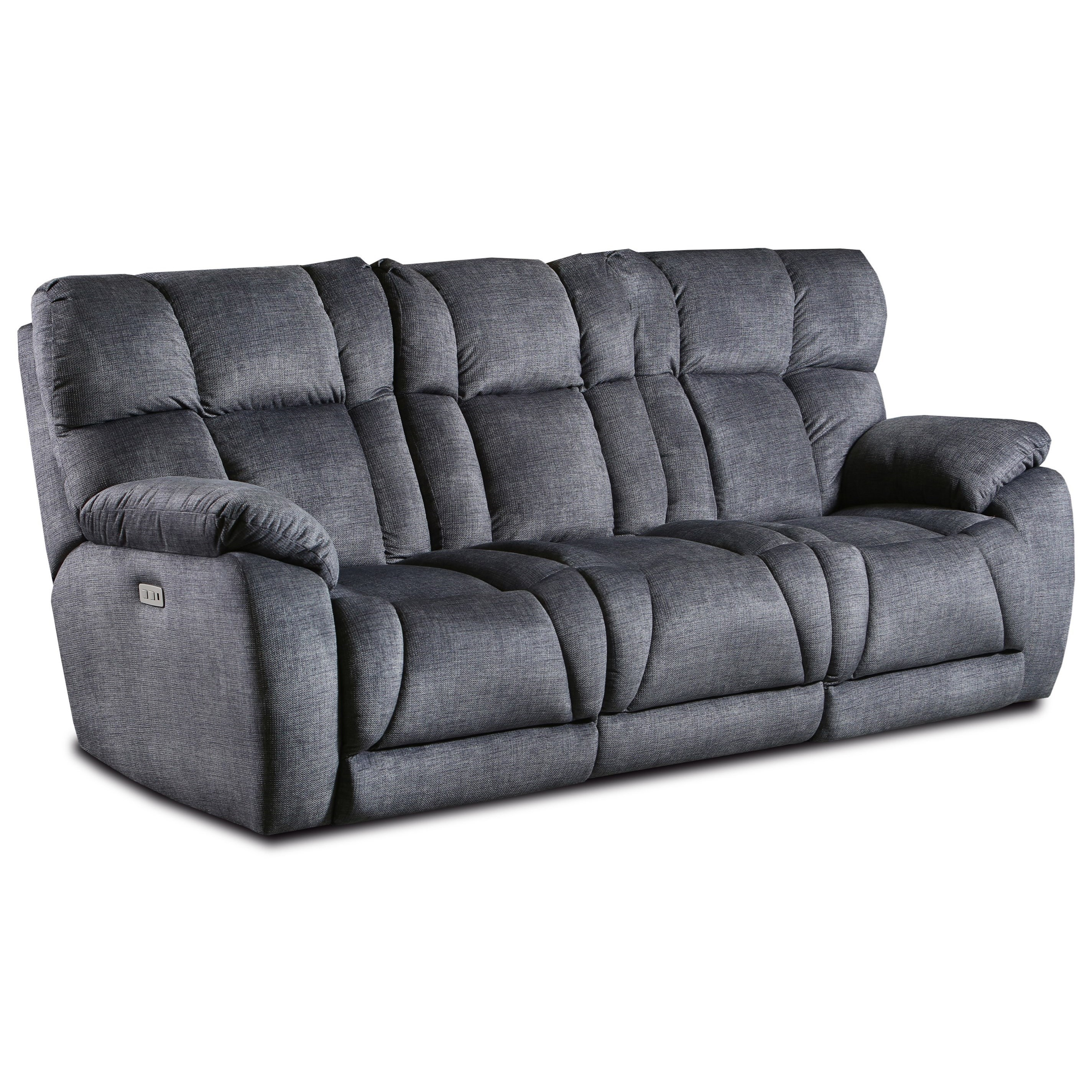 Wild Card Pwr Hdrest Dble Reclining Sofa w/Dropdwn Tab by Southern Motion at Fashion Furniture