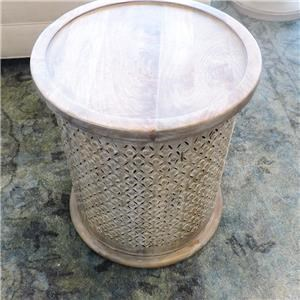 Bohemian Round End Table