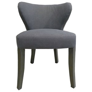Side Chair with Tufted Back