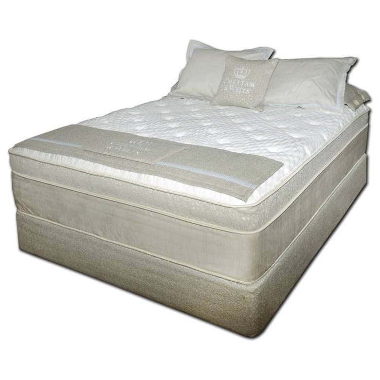 Chattam and Wells PillowTop Twin XL Coil on Coil Pillow Top Mattress Set by Spring Air at Steger's Furniture