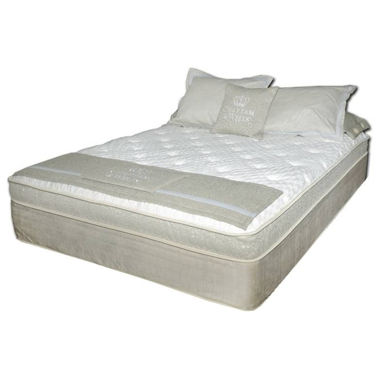 Chattam and Wells PillowTop Full Coil on Coil Pillow Top Mattress by Spring Air at Steger's Furniture
