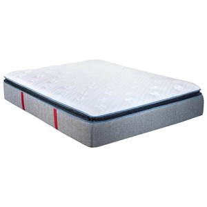 King Pillow Top Pocketed Coil Mattress and Caliber Adjustable Base