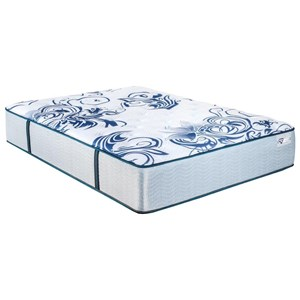 King Cushion Firm Pocketed Coil Mattress and Surge Adjustable Base with Massage
