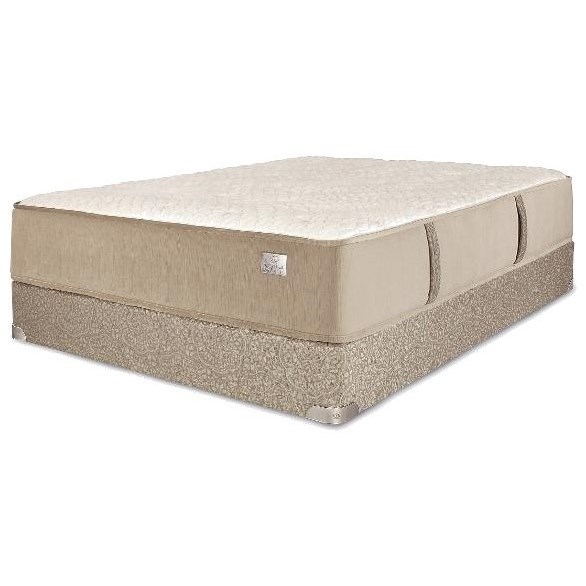 """Imperial Firm Twin 15"""" Firm Mattress Set by Spring Air at Steger's Furniture"""