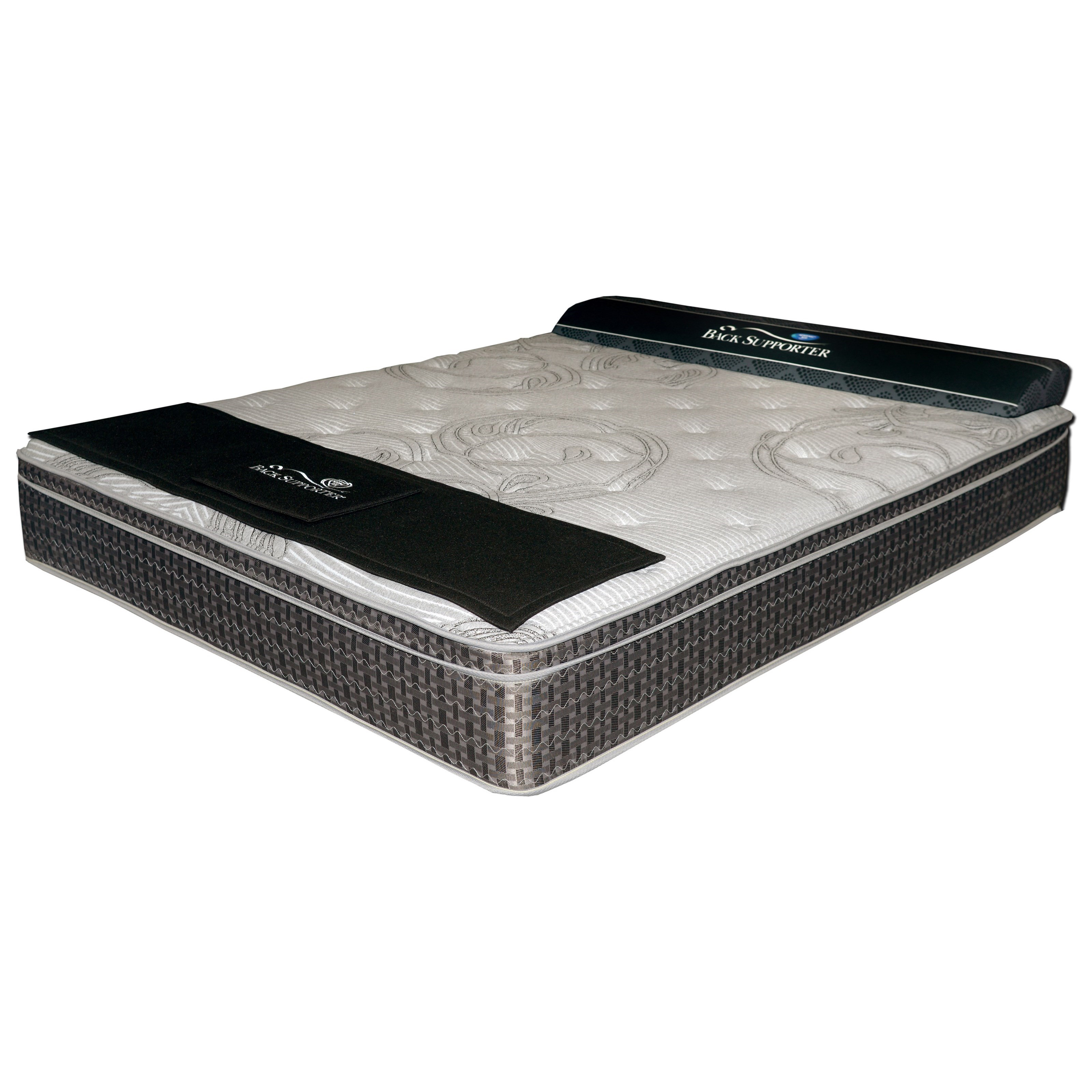 Iris Pillow Top Twin XL Pocketed Coil Mattress by Spring Air at Goods Furniture