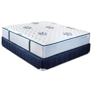 King Firm Pocketed Coil Mattress and Foundation
