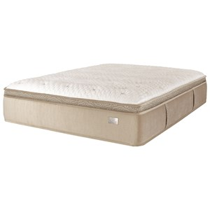 Queen Euro Top Pocketed Coil Mattress and Surge Adjustable Base with Massage