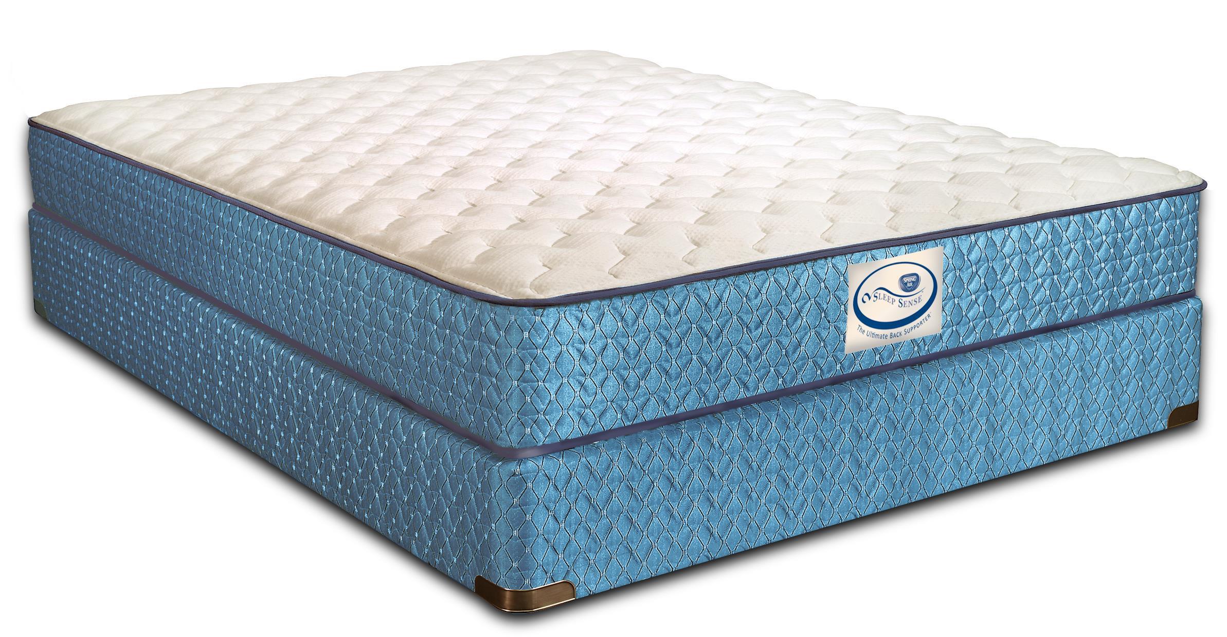 Sleep Sense King Firm Mattress Set by Spring Air at Mueller Furniture