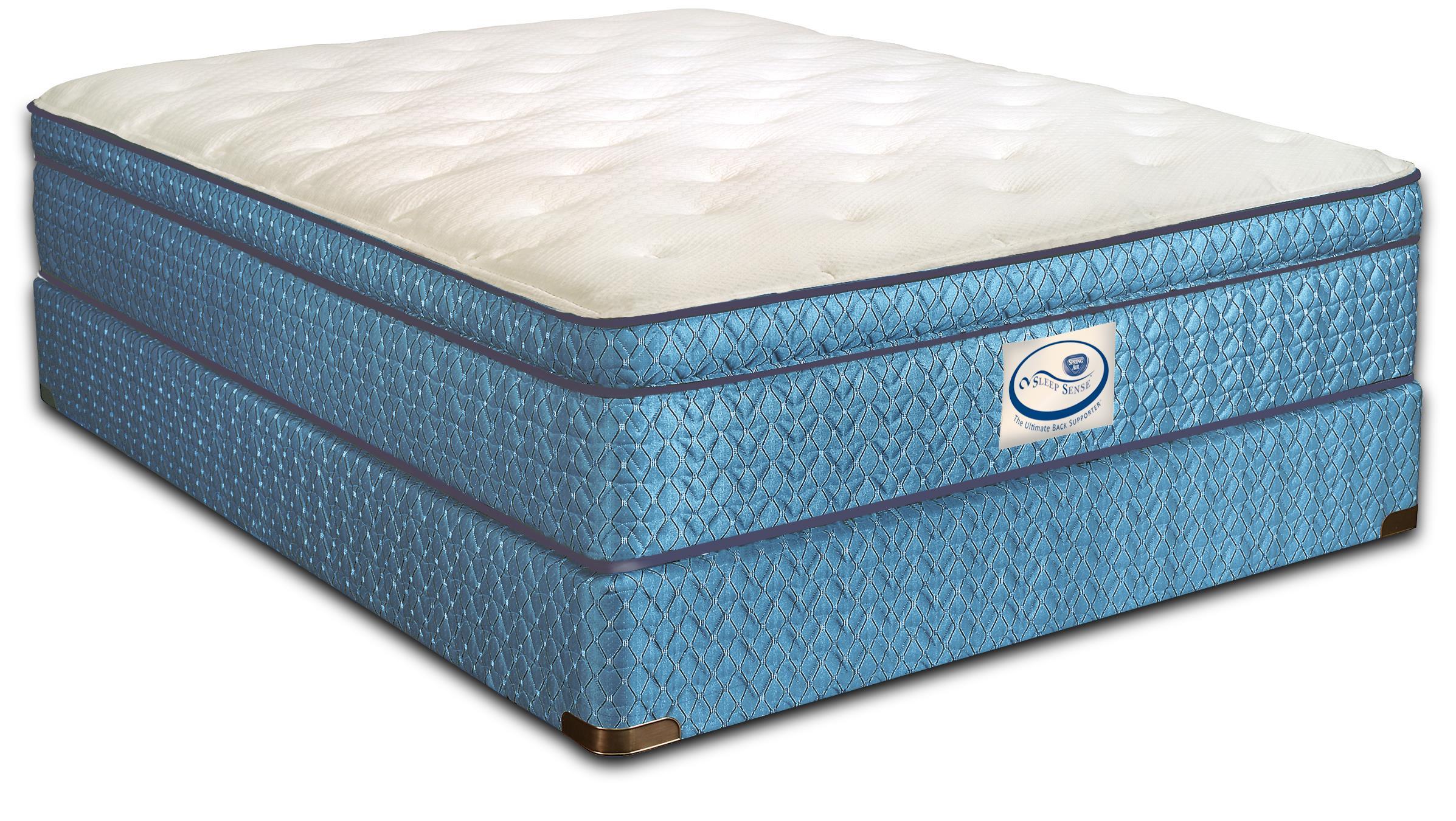 Sleep Sense Full Pillow Top Mattress by Spring Air at Mueller Furniture
