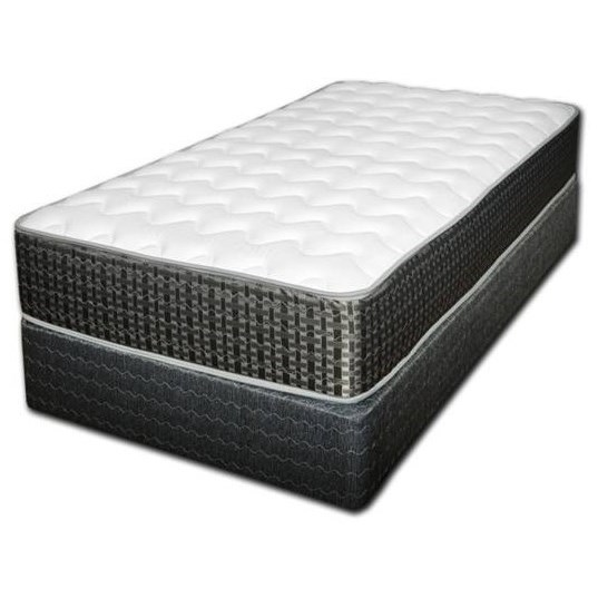 Victoria Firm Twin Firm Innerspring Mattress Set by Spring Air at Steger's Furniture