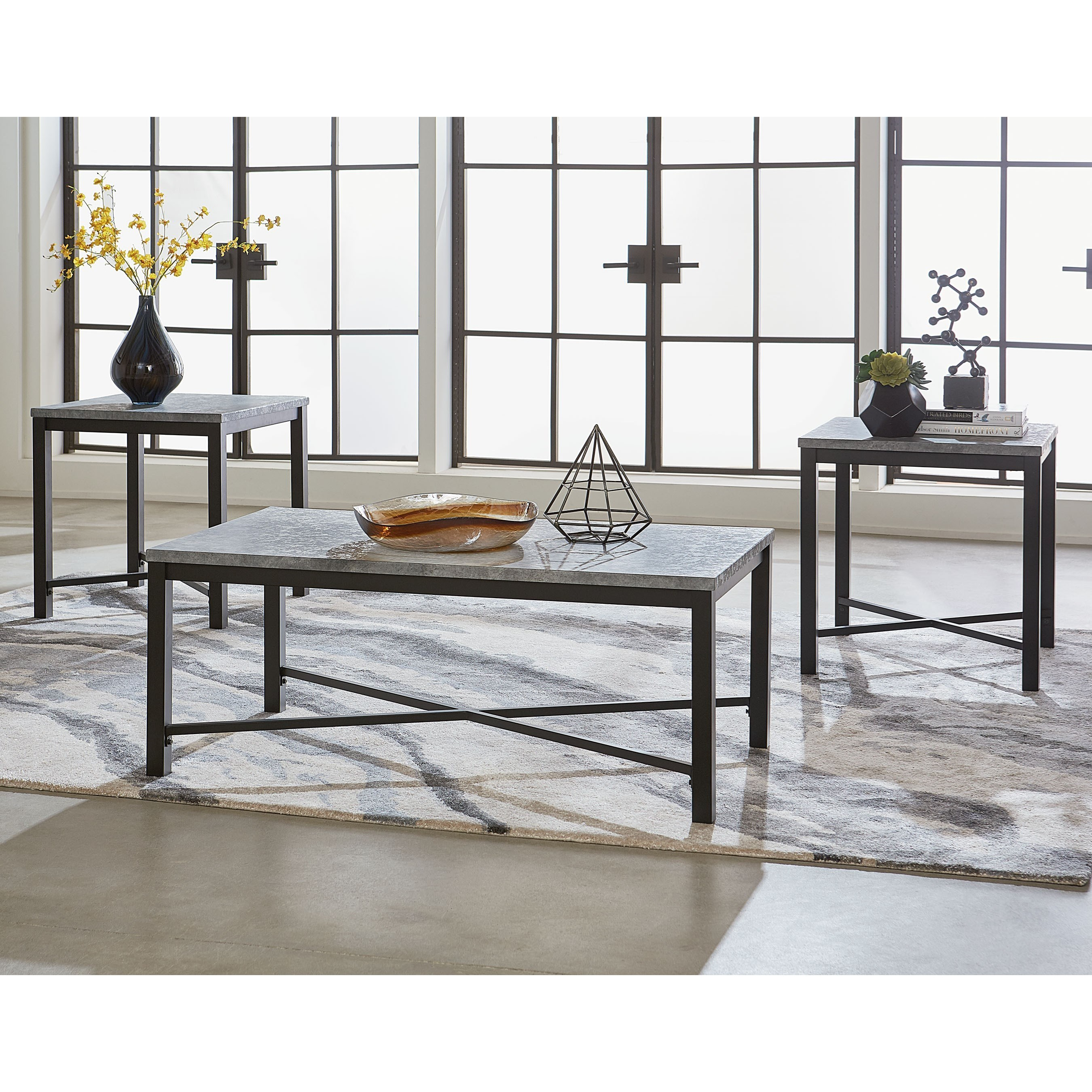 Lacrosse Occasional Table Group by Standard Furniture at Adcock Furniture