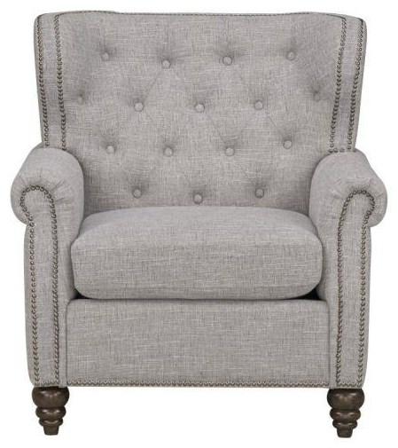 34108 ACCENT CHAIRS 341081 NAIL HEAD CHAIR by Standard Furniture at Furniture Fair - North Carolina