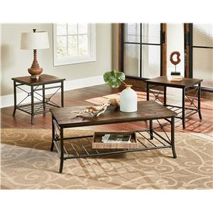 Three Pack of Transitional Accent Tables