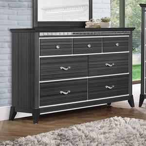 Contemporary Dresser with 7 Drawers