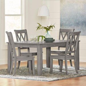 Casual 5 Piece Table and Chair Set