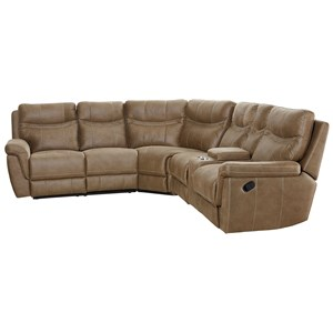 Contemporary Reclining Sectional