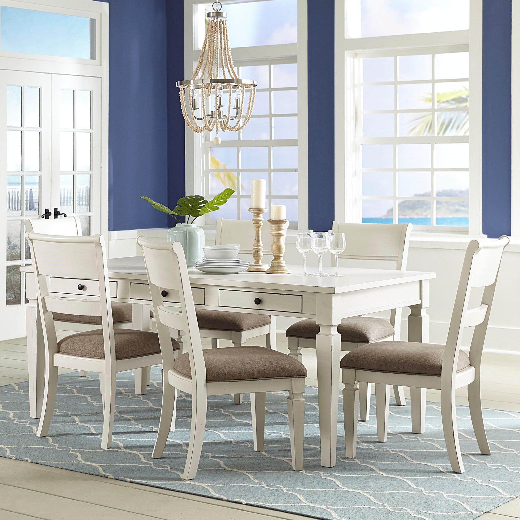 Chesapeake Bay 7-Pc Table and Chair Set by Standard Furniture at Rooms for Less