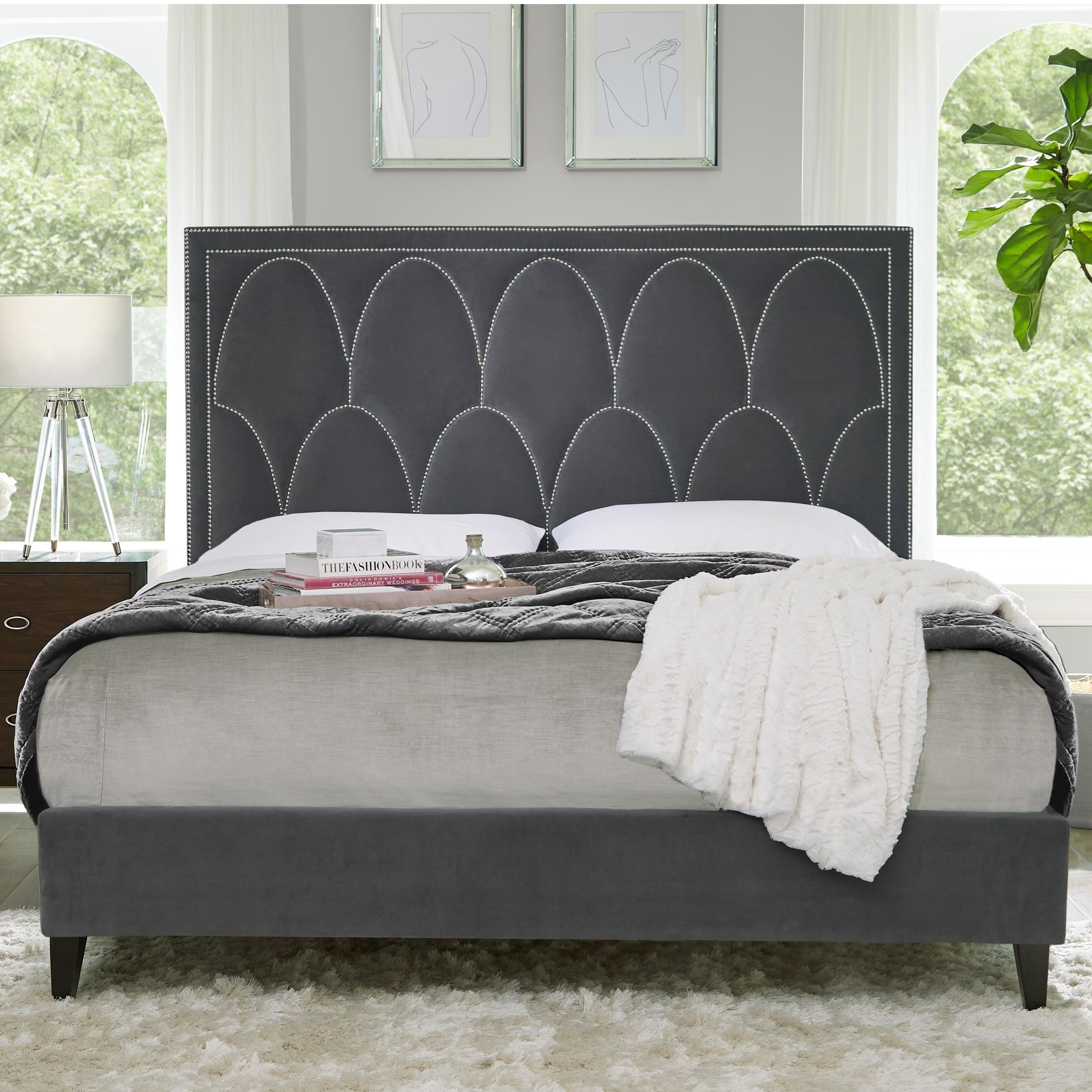 Delano King Upholstered Bed by Standard Furniture at Rooms for Less