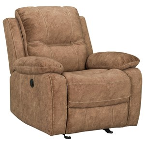 Casual Power Glider Recliner