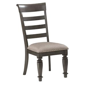 Traditional Upholstered Side Chair