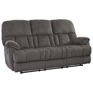 Transitional Reclining Sofa