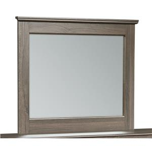 Wood-Frame Mirror