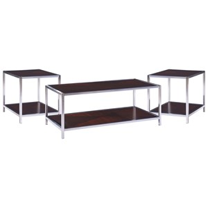 Contemporary Occasional Table 3-Pack