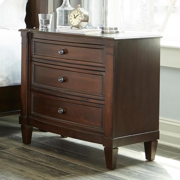 Mallory Brown Nightstand by Standard Furniture at Rooms for Less
