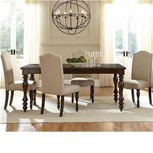 Dining Table and 4 Side Chair Set