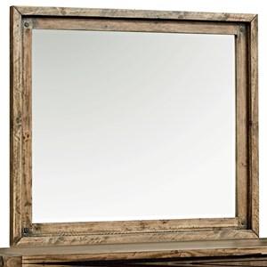 Rustic Youth Dresser Mirror