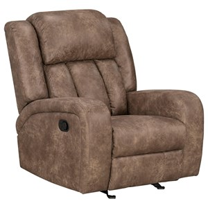 Casual Style Manual Glider Recliner