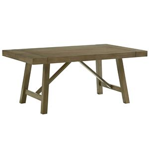 Standard Furniture Omaha Grey Trestle Table