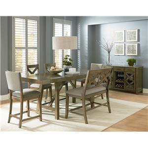Standard Furniture Omaha Grey Counter Height Dining Set