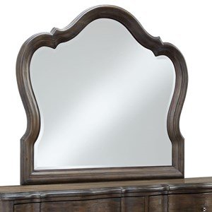 Mirror with Camelback Top