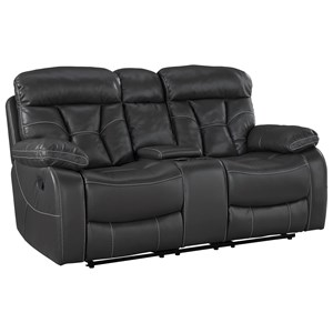 Reclining Loveseat with Center Console