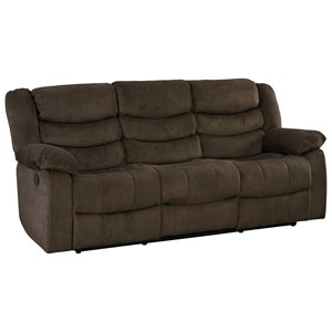 Casual Manual Reclining Sofa