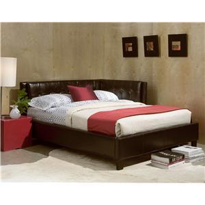 Full Upholstered Corner Daybed