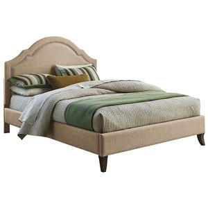 Standard Furniture Simplicity King Upholstered Platform Bed