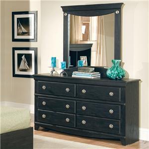 Standard Furniture Carlsbad Dresser & Mirror