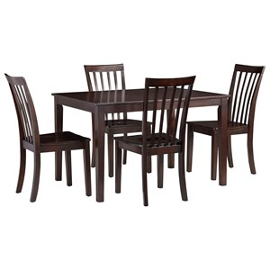 Casual Dining Table with Four Chairs
