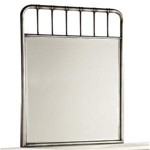 Casual Metal Framed Mirror