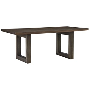 """Casual 78"""" Trestle Dining Table"""