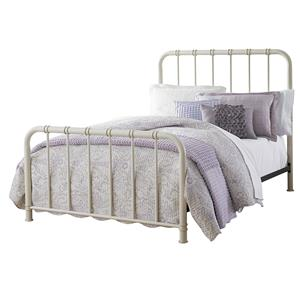 Queen Metal Bed with Tubular Steel