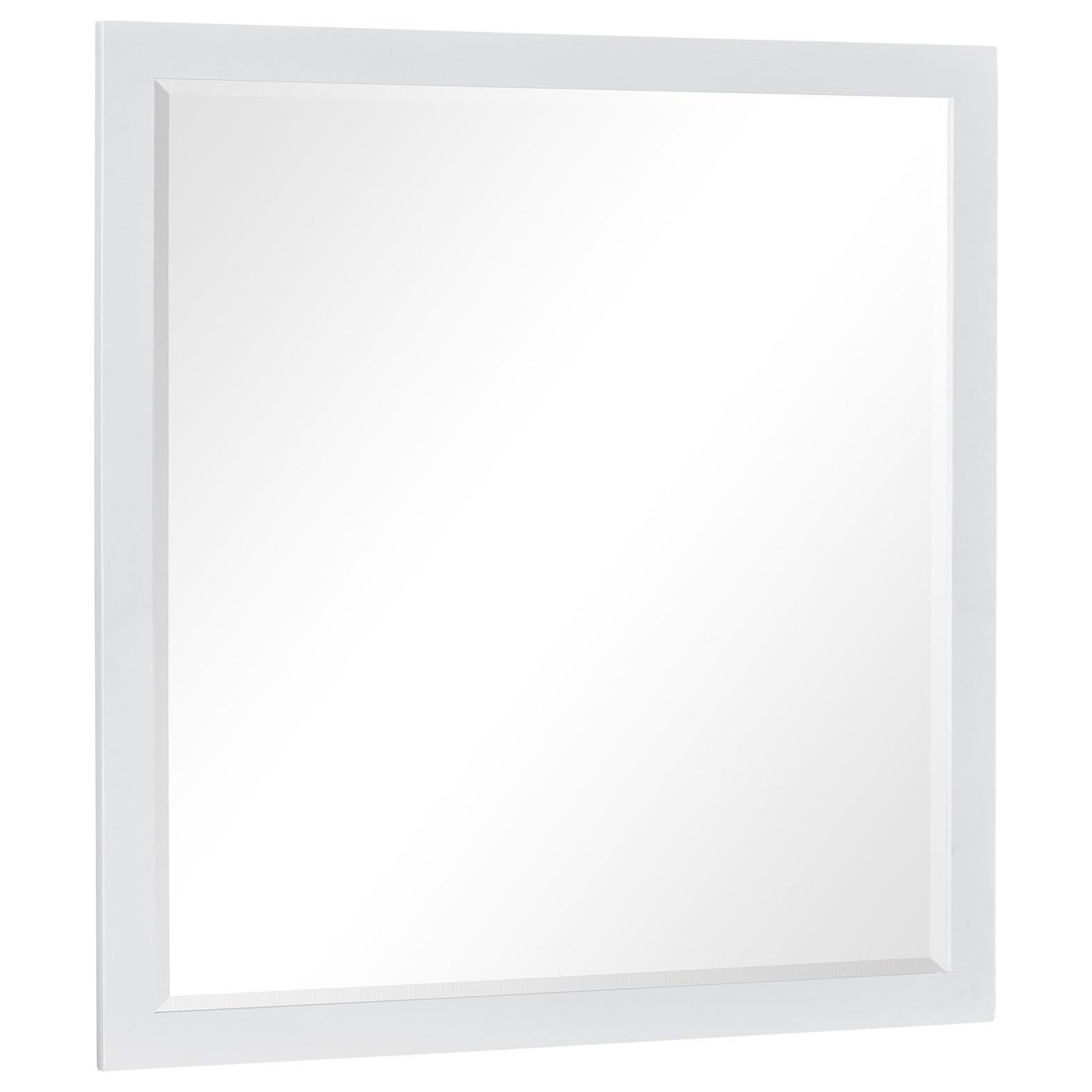 Tyler White Mirror by Standard Furniture at Rooms for Less