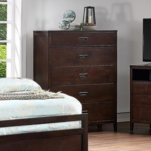 Contemporary Chest with 5 Drawers