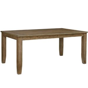 Dining Table with Tapered Feet