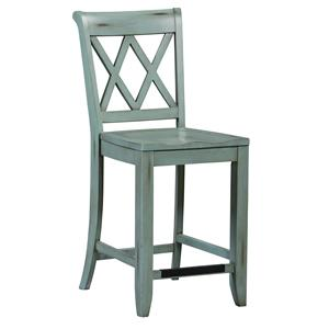 Standard Furniture Vintage Counter Height Stool