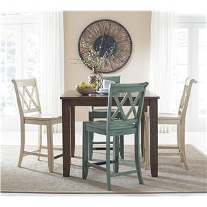 Standard Furniture Vintage Counter Height Dining Set