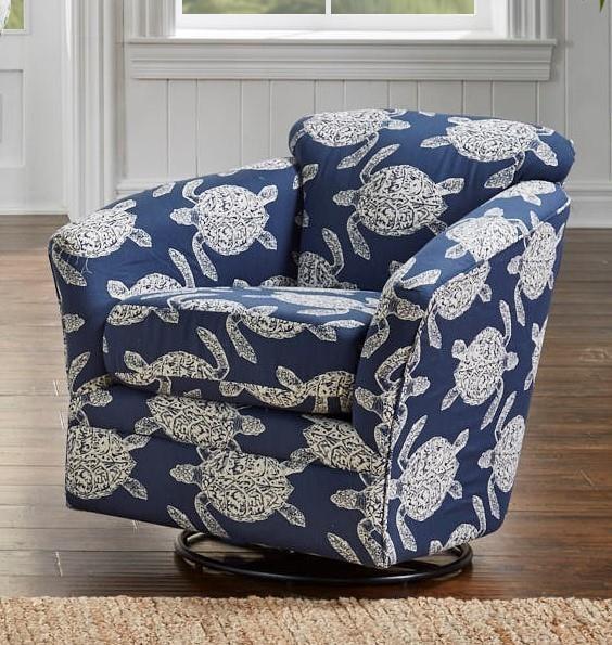 36SWGL GERT INDIGO SWIVEL GLIDER by Stanley Chair Company at Furniture Fair - North Carolina