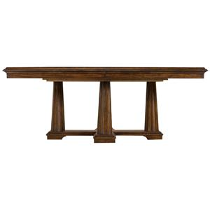 Stanley Furniture Archipelago Calypso Pedestal Table